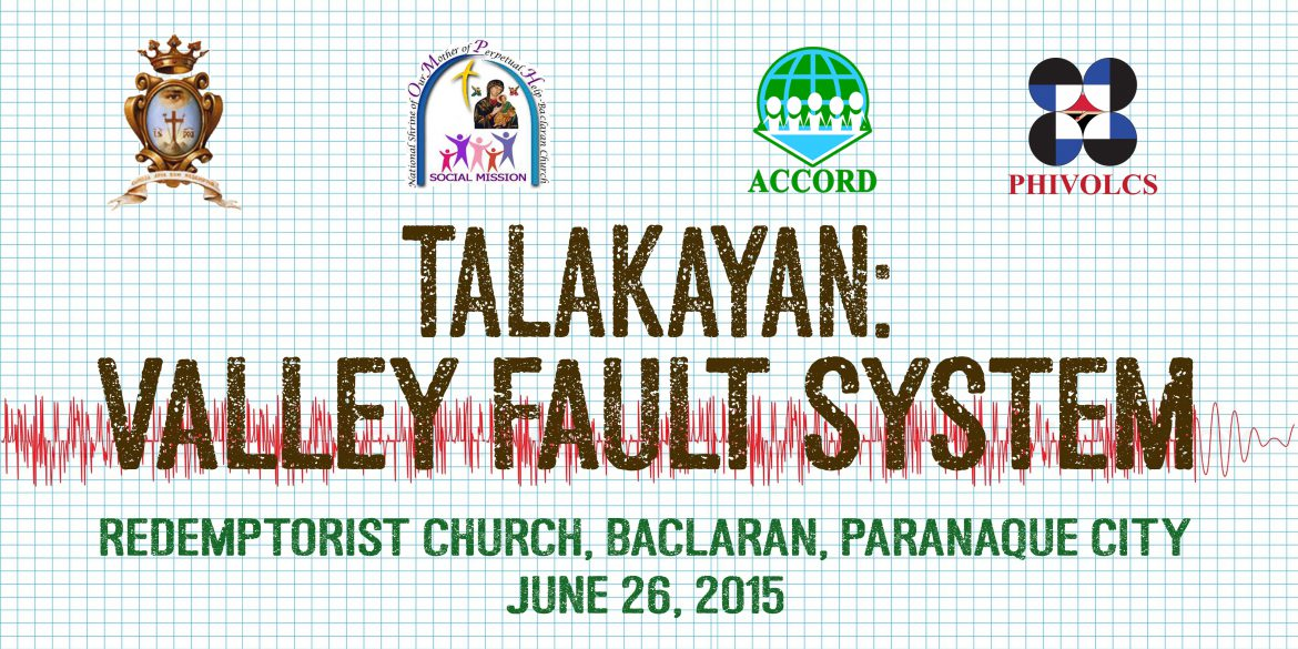 Earthquake Preparedness Forum in Baclaran Church to Ensure Safety of Devotees