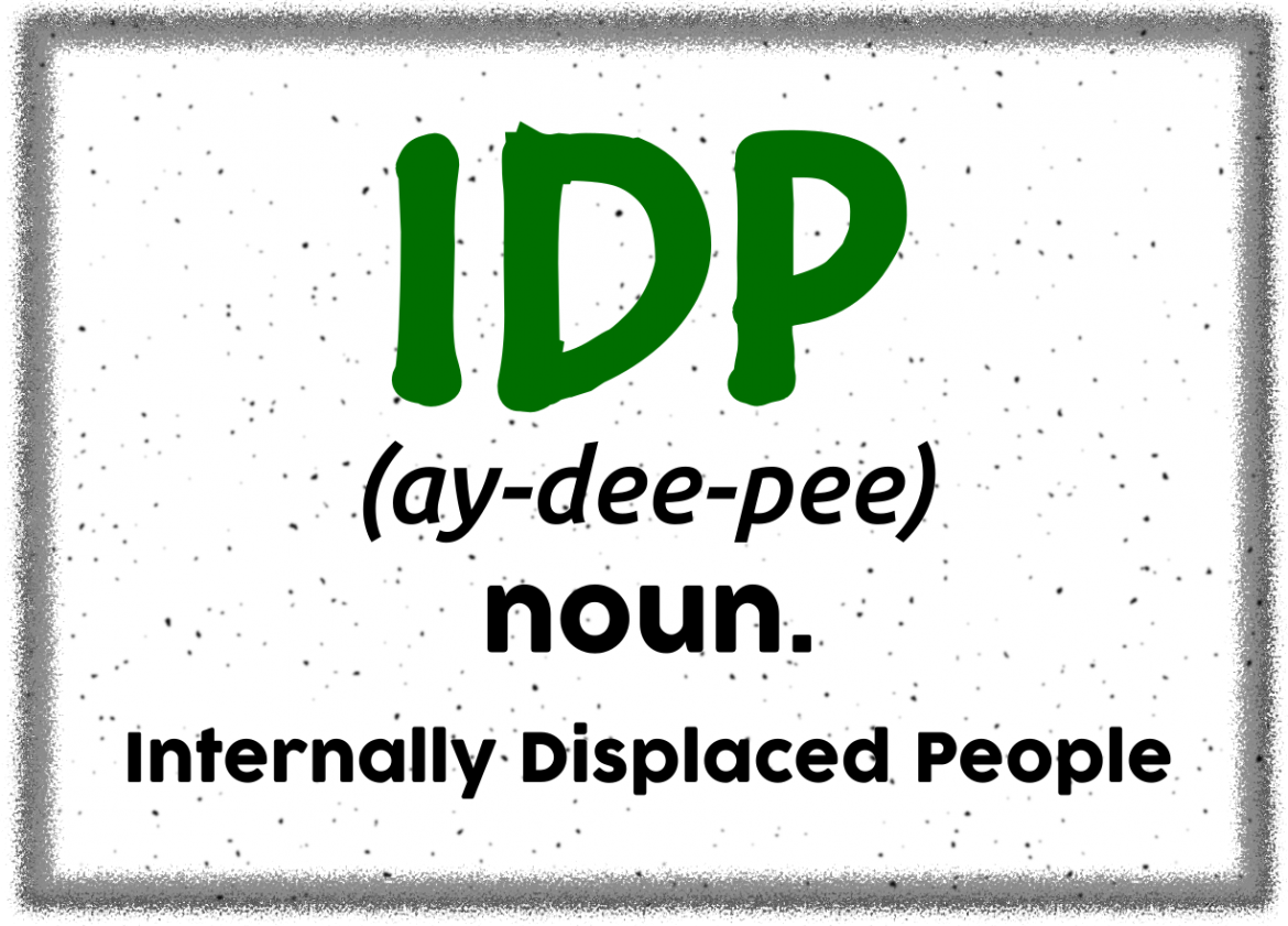 IDP noun - term by humanitarian workers