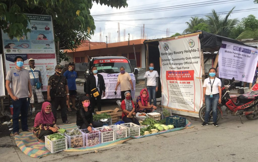 MOVE UP mobile palengke: Alternative livelihood for pandemic-affected Cotabato City communities
